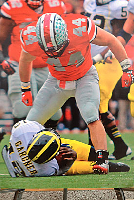 This Zach Boren sack is a 2012 highlight.