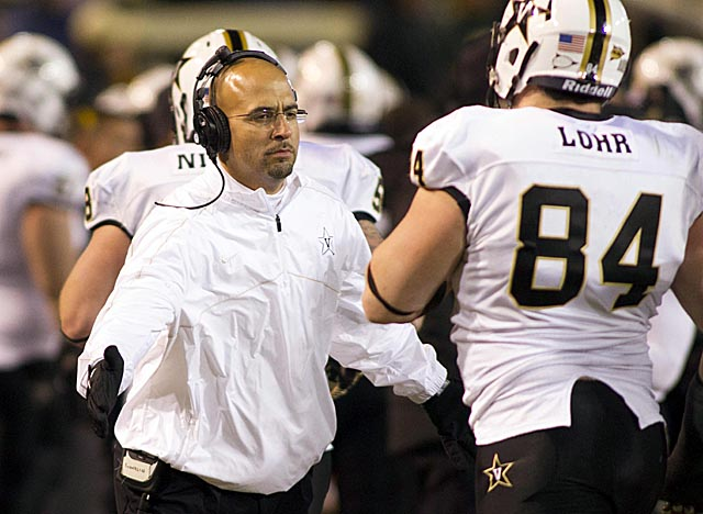 Franklin is the first coach to lead Vandy to 15 wins over two seasons since the early 20th century. (USATSI)