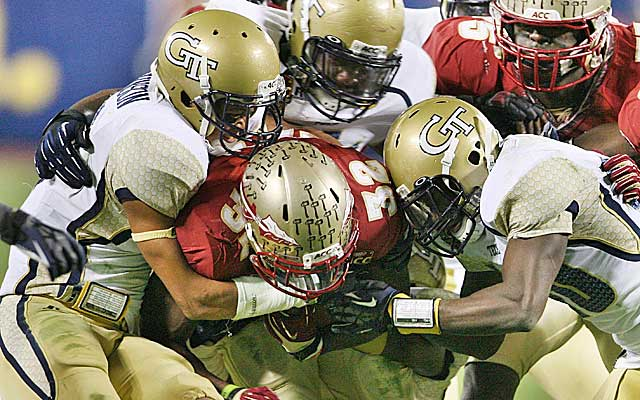 Georgia Tech made the ACC title game in spite of its lackluster defense. (USATSI)