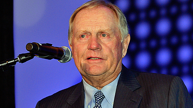 Jack Nicklaus was awarded the Coach Wooden Citizen's Cup. (Getty Images)