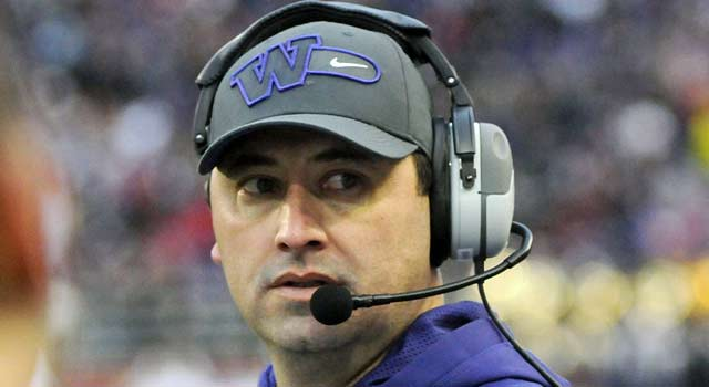 Washington's Steve Sarkisian says he's being proactive when it comes to the potential of gay players. (USATSI)