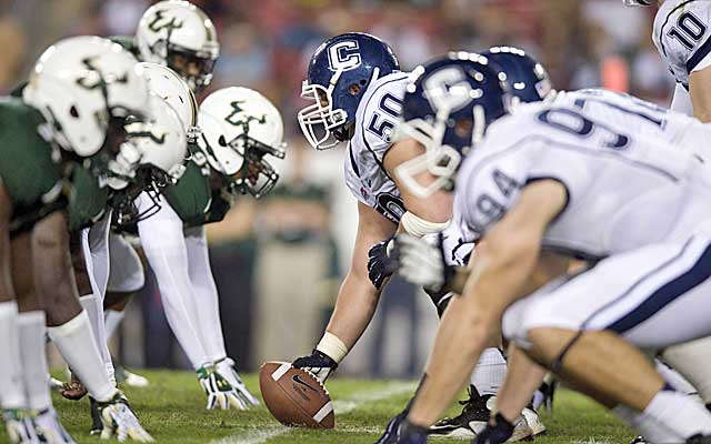 A lack of football tradition worked against South Florida and UConn in realignment. (USATSI)