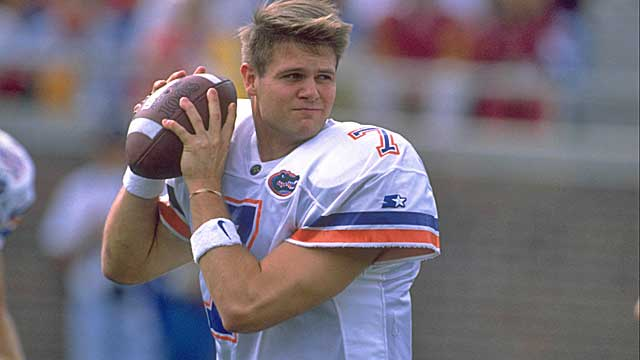 Wuerffel lost just six games in four seasons as Steve Spurrier's QB. (Getty Images)
