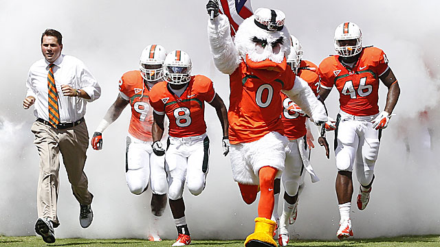 Golden says negative recruiting around Miami has become 'toxic, toxic, toxic.' (Getty Images)