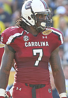 Clowney has lived up to his billing as the top recruit in his class. (USATSI)