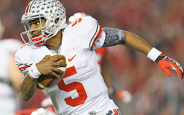 Braxton Miller exceeded expectations in 2012 under Tom Herman's tutelage. (USATSI)