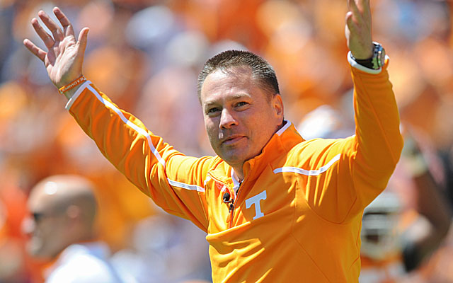 Butch Jones has another major nonconference game to prepare for. (USATSI)