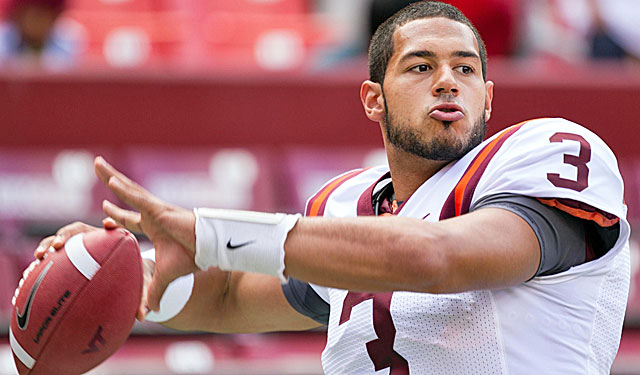 Logan Thomas and Va. Tech open against two-time defending national champ Bama. (USATSI)