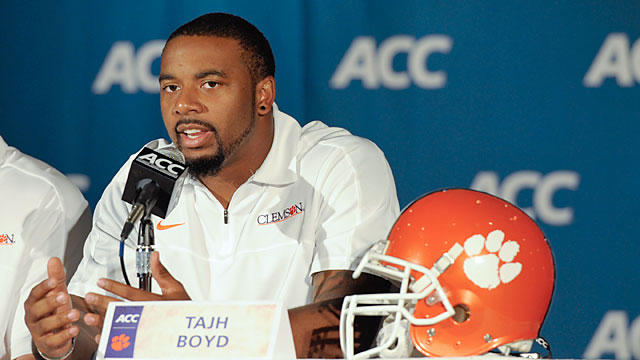 Boyd: 'There was an opportunity at Clemson to win another championship and so I wanted to try.' (USATSI)