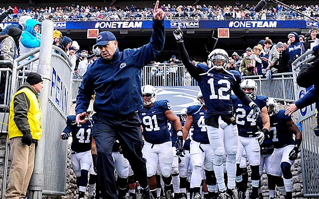 Bill O'Brien still has his hands full at Penn State. (USATSI)