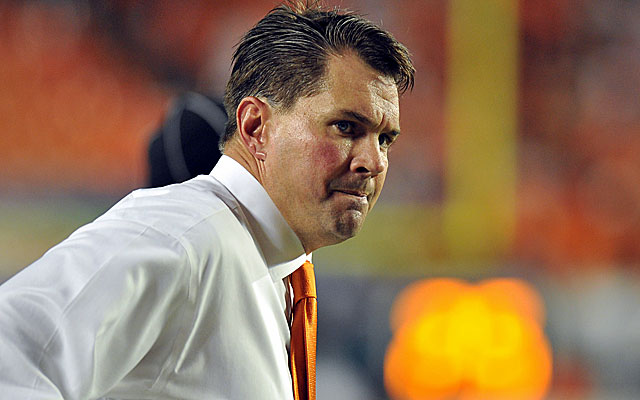 Miami coach Al Golden is hoping for a return to normalcy in Coral Gables. (USATSI)
