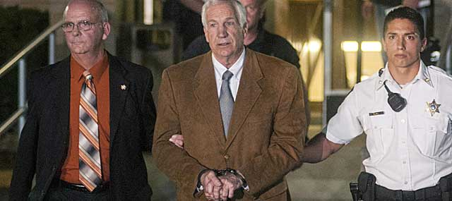 Jerry Sandusky is appealing his minimum 30-year sentence.  (USATSI)