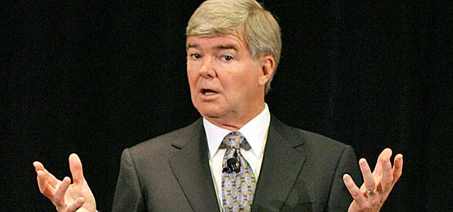 Mark Emmert's office has been under fire before, during and after Penn State.  (USATSI)