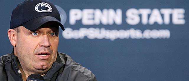 Bill O'Brien has been a steadying influence as Joe Paterno's replacement. (USATSI)