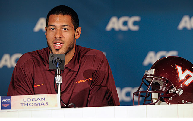 Virginia Tech needs a better season out of QB Logan Thomas. (USATSI)