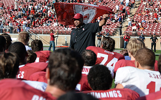 Third-year coach David Shaw hopes to lead Stanford to its fourth straight BCS berth. (USATSI)