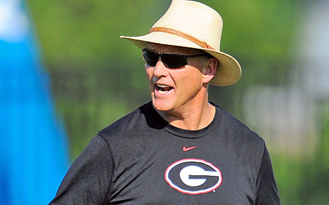 Mark Richt told Houston he would honor his scholarship -- even if he never played a down for Georgia. (USATSI)