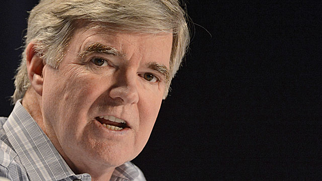 The NCAA's Mark Emmert refused to budge on Houston's ban -- despite no evidence of a competitive advantage. (USATSI)