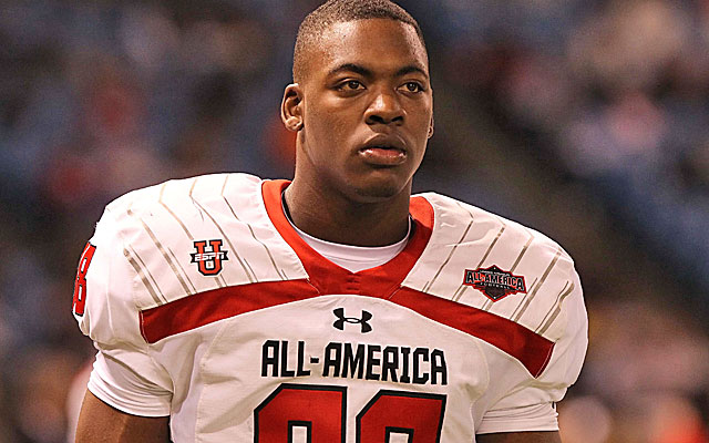 Jones, a 6-foot-5 prep All-American, only  visited Mississippi State and Ole Miss on recruiting trips. (USATSI)