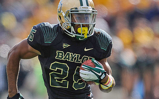 Seastrunk ran for 831 yards over his last six games in 2012 while setting Baylor records.  (USATSI)
