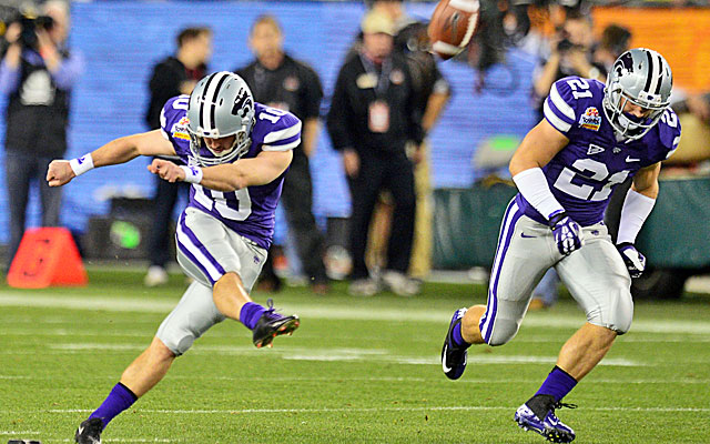 Kickoffs are likely to disappear as college football improves its safety. (USATSI)
