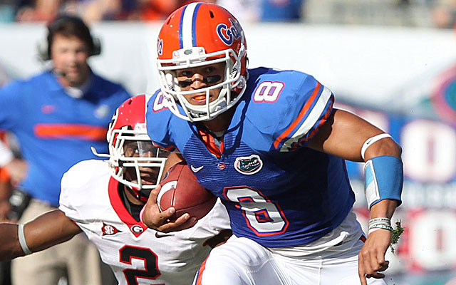 Former QB Trey Burton will be Florida's slot receiver in 2013. (USATSI)