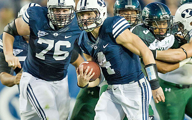 BYU runs a no-huddle attack but also had the country's No. 3 defense in 2012. (USATSI)