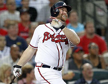 Brian McCann goes deep in the third for his 19th homer of the season. His slugging percentage is a robust .507. (USATSI)