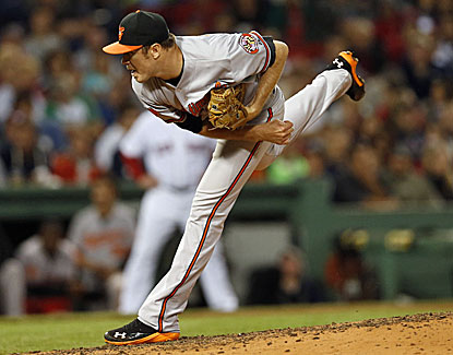 Baltimore Orioles starter Chris Tillman pitches seven strong innings to earn his 15th victory of the season. (USATSI)