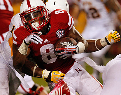 Ameer Abdullah runs for a game-high 114 yards as Nebraska holds off Wyoming's late charge. (USATSI)