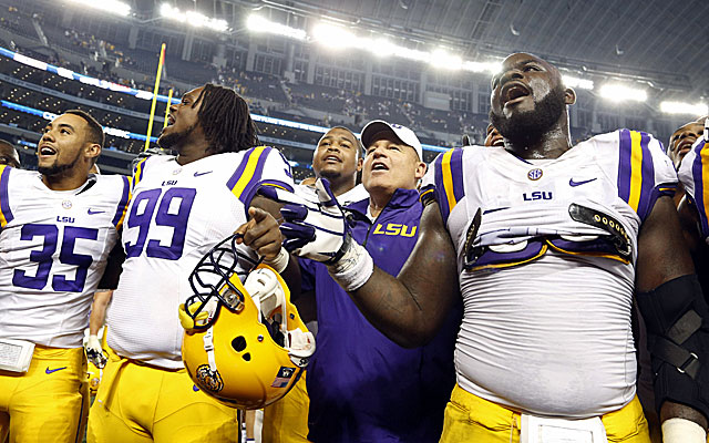 Perhaps overlooked, LSU could become a player in the national title picture. (USATSI)