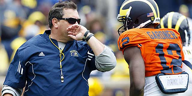 Gardner says his relationship with coach Brady Hoke is better after a shaky start. (USATSI)