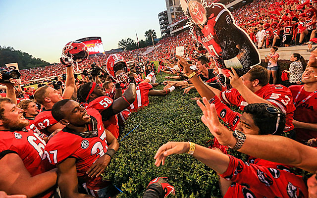 Georgia turns its season around just one week after a crushing loss to Clemson. (USATSI)