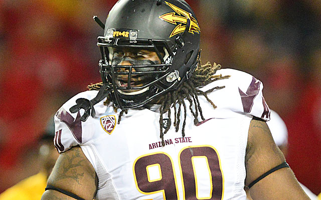 On reason to watch Arizona State-Wisconsin: Will Sutton playing fullback for the Sun Devils.(USATSI)