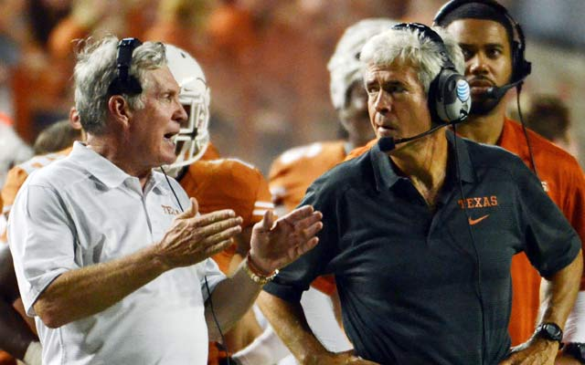 Mack Brown and Greg Robinson are still searching for answers after losing to Ole Miss at home. (USATSI)