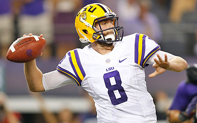 Under Cam Cameron's tutelage, Zach Mettenberger has a been a revelation thus far. (USATSI)