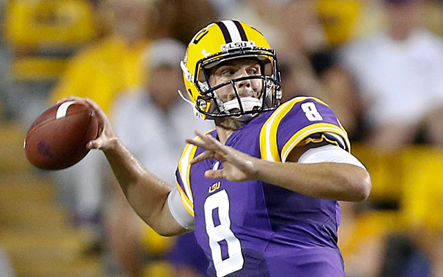 Zach Mettenberger has made big strides at LSU under Cam Cameron. (USATSI)