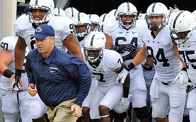 Bill O'Brien's job will get easier at Penn State with lost scholarships being gradually reinstated starting in 2014. (USATSI)