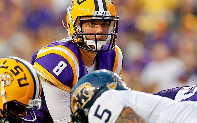 Under Cam Cameron's tutelage, Zach Mettenberger has come into his own this season. (USATSI)