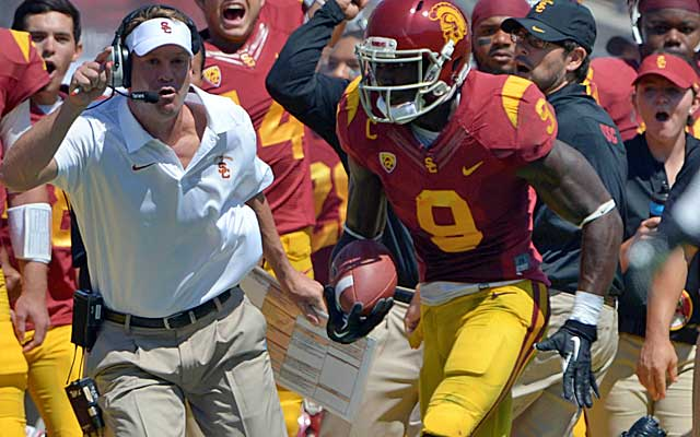 Lane Kiffin's USC offense has been abysmal so far. (USATSI)