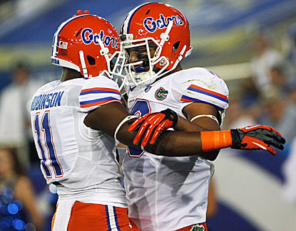The Florida Gators extend their win streak over Kentucky to 27 games with a 24-7 victory in Lexington. (USATSI)