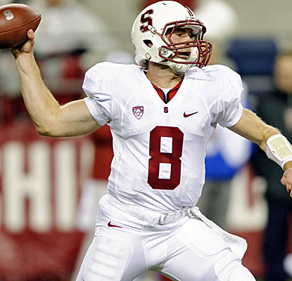 Kevin Hogan throws for 286 yards and three touchdowns as Stanford rolls over Washington State.  (USATSI)