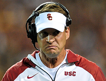 Lane Kiffin was fired after Saturday's night loss.  (USATSI)