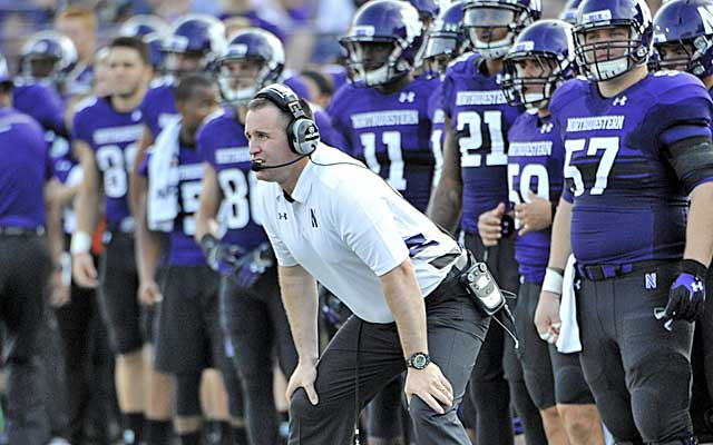 Pat Fitzgerald's loyalty to Northwestern is refreshing. (USATSI)