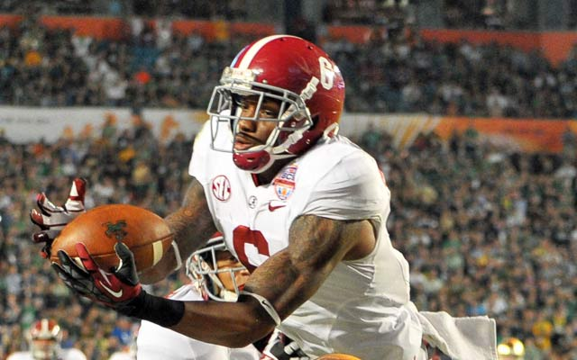 Clinton-Dix is considered an NFL prospect at safety for the Crimson Tide. (USATSI)