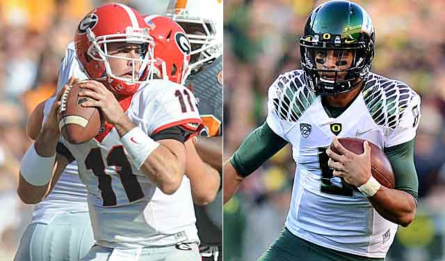 Aaron Murray has another 'moment,' and Marcus Mariota has accounted for 21 TDs. (USATSI)