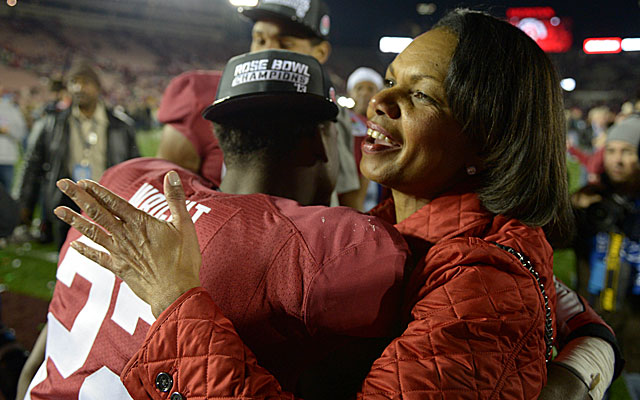 Condoleezza Rice may be a Stanford fan, but her credentials are unassailable. (USATSI)