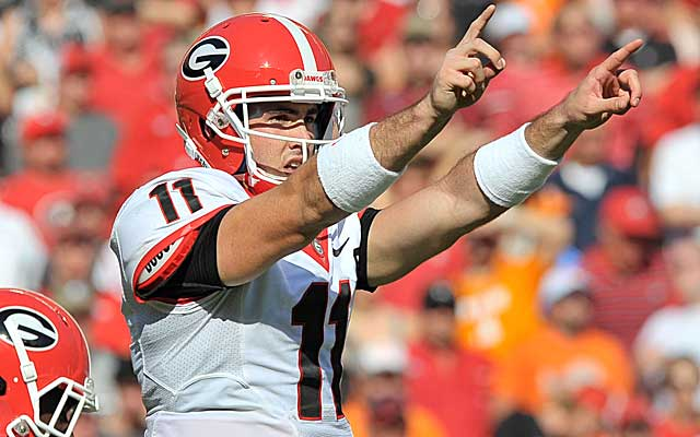 Georgia will lean heavily on senior QB Aaron Murray as it tries to survive its next two games.   (USATSI)