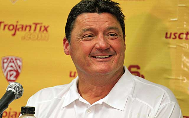 Orgeron says he has learned from the mistakes he made at Ole Miss   (USATSI)