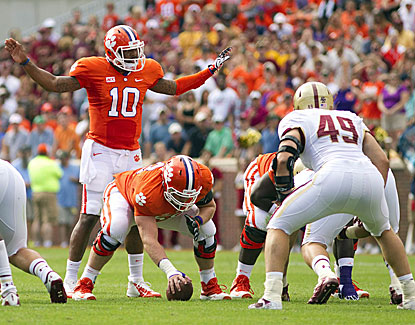 Though it was a struggle, Tajh Boyd and Clemson remain undefeated leading into their huge game against Florida State. (USATSI)